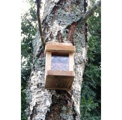 Mangeoire en bois recyclés pour écureuils
