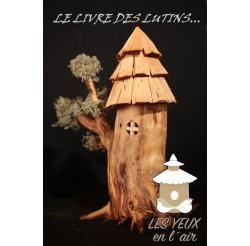 LE LIVRE DES LUTINS fabrication artisanales en bois recyclés et brut écoresponsable nichoirs, mangeoires, objets de décoration