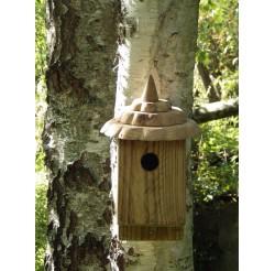 Nichoir à oiseaux -bois recyclé boite à mésanges 32 mm
