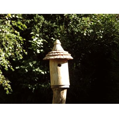 Nichoir pour oiseaux en bois - Maison de lutins