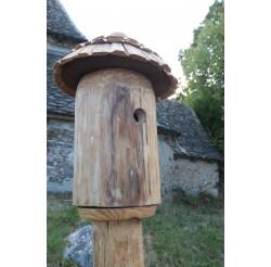 Nichoir pour oiseaux en bois- Maison de lutins