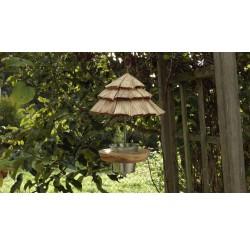 Mangeoire à oiseaux-bois recyclé-mésanges