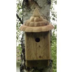 Nichoir à oiseaux -bois recyclé- boite à oiseaux 27 mm