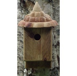 Nichoir à oiseaux en bois- boite à mésanges