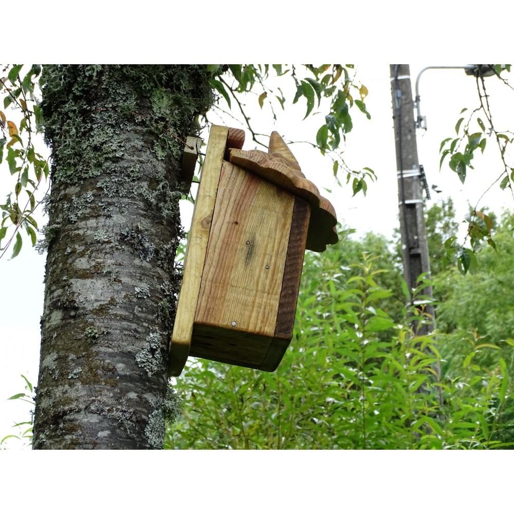 nichoir oiseaux boite oiseaux acc s 27mm les yeux en l 39 air. Black Bedroom Furniture Sets. Home Design Ideas