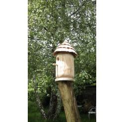Nichoir oiseaux en bois-mésanges